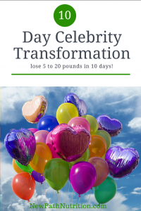 10 day celebrity transformation