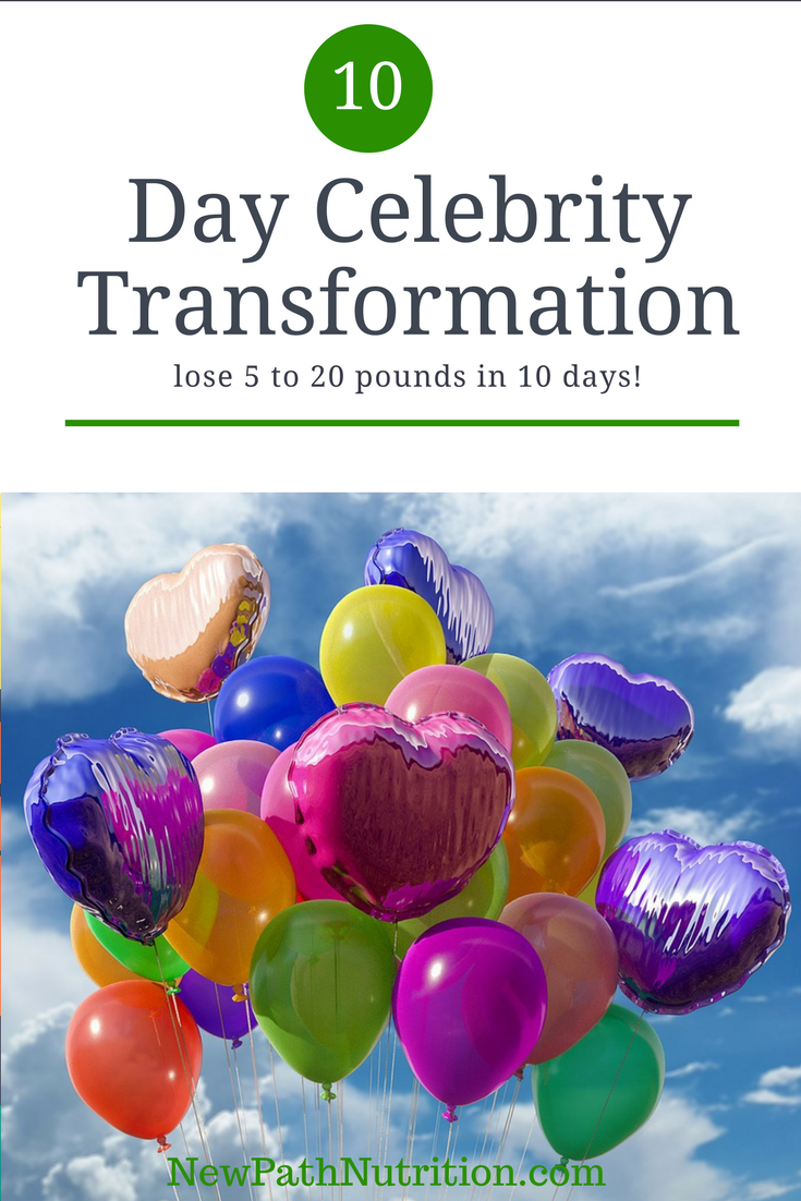 Try the 10 Day Transformation - see what a difference it can make in your life
