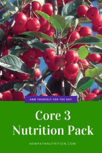 Core3 Nutrition includes apothe cherry