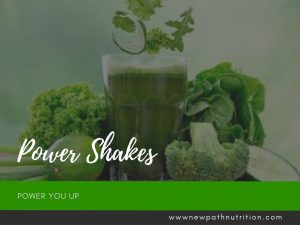 Power shakes help you power up