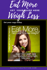 Eat more weight less get the guide