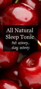 Purium apothe-cherry all natural sleep tonic