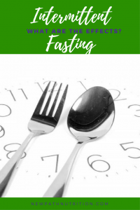 mental health effects of intermittent fasting