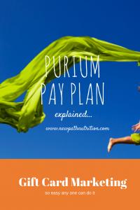 purium compensation plan explained
