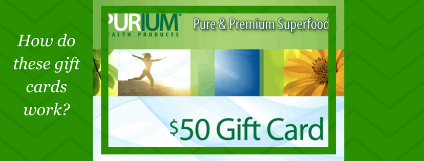 Purium Gift Card – What Does It Mean For You?