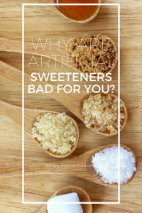 why are artificial sweeteners bad for you