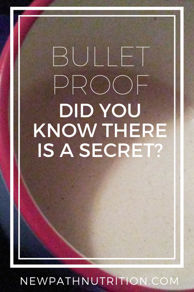 bulletproof coffee - what is the secret & how does one make it so it works effectively?